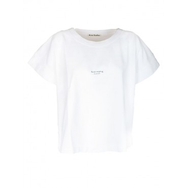 Women's Clothing Acne Studios Printed Logo T-shirt DWCUMSA