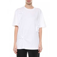 Women's Clothing Helmut Lang T-shirt Bianco LIZCONN