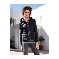 Marc Aurel Women Quilted jacket anthracite 11569488 QVYIEBG