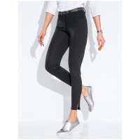 Brax Feel Good Women Jersey trousers - design SHAKIRA S GYM black fashioned athleisure fantastic feelgood supersoft 61409988 OFIBZDG