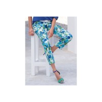 Peter Hahn Women Trousers multi-coloured pair trousers designed shades blue 61625088 ZNLAPSH